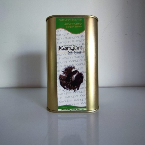 500 ml. Soğuk Sıkım (Erken Hasat) Natürel Sızma Zeytinyağı